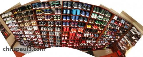 A Look Inside Chris Pauls Jordan Closet
